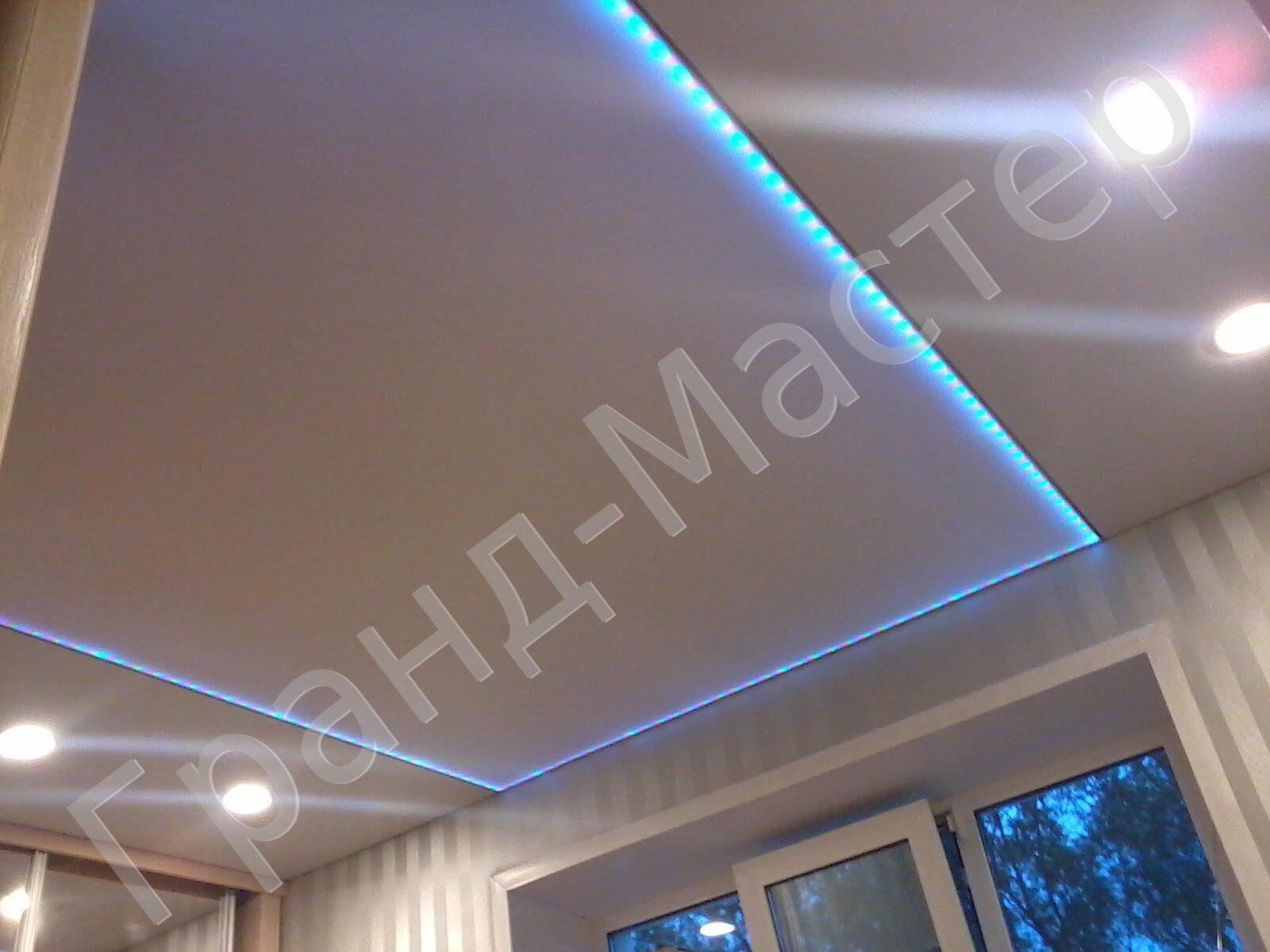 Популярные светодиодная лента для натяжных потолков цена тонкое