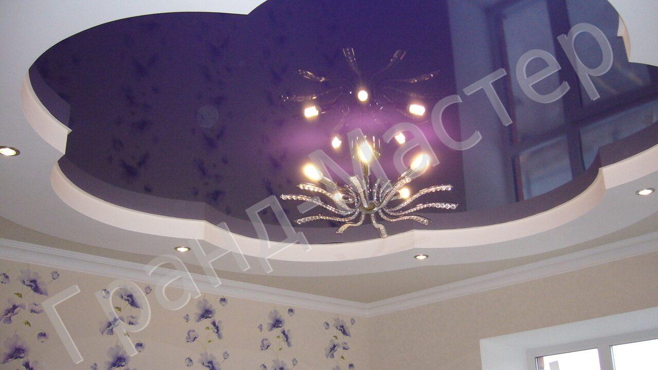 Натяжные потолки фото дизайн в зал